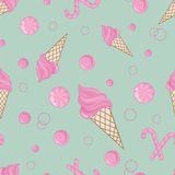 Candy  seamless pattern background Royalty Free Stock Photos