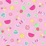 Candy Seamless Repeat Pattern Vector royalty free illustration