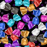 Candy seamless vector pattern. Sweet illustration. Royalty Free Stock Photos