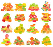 Candy set isolated Royalty Free Stock Photo