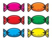 Candy set Stock Image