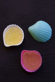 Candy shells Stock Image