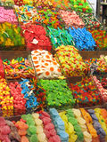 Candy shop. Assorted colorful candies at the candy shop Stock Image