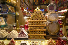 In a Candy Shop Royalty Free Stock Image