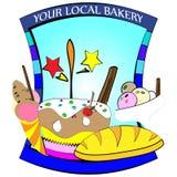 Candy shop logo Royalty Free Stock Photos