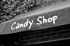 Candy Shop Sign Stock Images