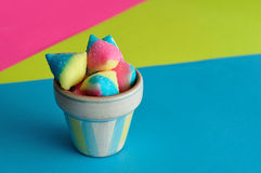 Candy in small container Royalty Free Stock Photo