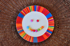 Candy smile Stock Image