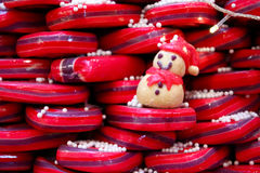 Candy snowman Stock Photography