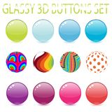 Candy Spheres Royalty Free Stock Photos