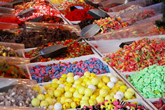 Candy stall Royalty Free Stock Images