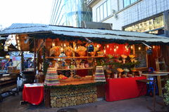 Candy stand Budapest Royalty Free Stock Images