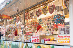Candy stand Royalty Free Stock Image