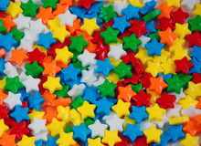 Candy stars. Group of colourful candy stars Royalty Free Stock Photos