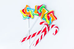 The candy stick Royalty Free Stock Image