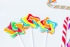 The candy stick Royalty Free Stock Photos