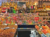 Candy Store, Barcelona stock image