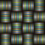 Candy stripe weave Stock Photo