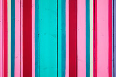 Candy striped wood background Royalty Free Stock Photo