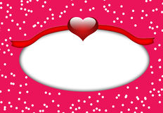 Candy style oval frame Stock Photos