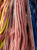 Candy sweet ropes Royalty Free Stock Photos