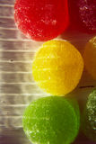 Candy. Sweetness of candy, chewing sugar, close-up shooting Stock Photography