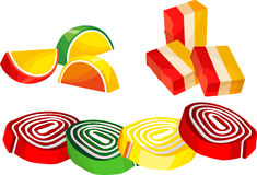 Candy sweets Stock Images