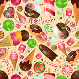 Candy and sweets background Royalty Free Stock Photo