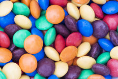 Candy sweets smarties Royalty Free Stock Photography