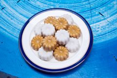 Candy in thai,thai desserts, sweet variety Stock Image