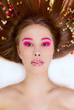 Candy Themed Styled Girl Royalty Free Stock Photo