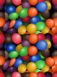 Candy tile pattern Royalty Free Stock Image