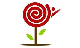 Candy Tree Logo Royalty Free Stock Photo