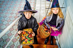 Candy Trick Or Treat Royalty Free Stock Photography