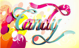 Candy vector illustration Royalty Free Stock Photo
