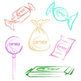Candy vector Stock Photography