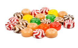 Candy. On a white background stock photo