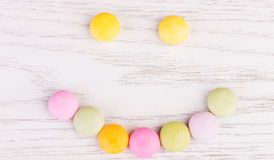 Candy on white background Royalty Free Stock Photography