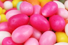candy Wielkanoc Jajko kształtujący cukrowy cukierek dla Easter sezonu Jajko kształtny cukierek Zdjęcie Royalty Free