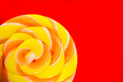 Candy of yellow and red Stock Image