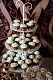 Candybar用杯形蛋糕 库存图片