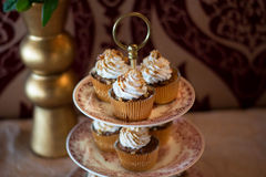 Candybar with cupcakes. Stock Images