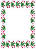 Candycane Border Stock Images