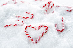 Candycanes royalty free stock image