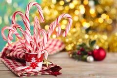 Candycanes Royaltyfri Bild