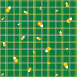 Candycorn Muster fünf Lizenzfreies Stockfoto