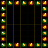 Candycorn Pattern Two Royalty Free Stock Photography