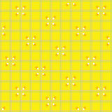 candycorn wzór cztery Obrazy Stock