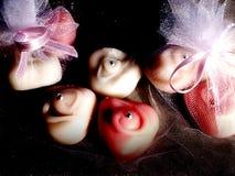 Candyes enmascarados Fotos de archivo libres de regalías
