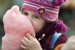 Candyfloss Royalty Free Stock Photos